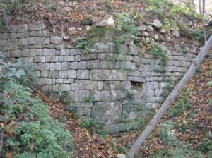 Ascianello angolo mura nord - Copia