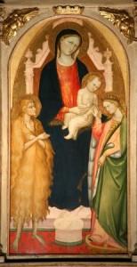 Bicci di Lorenzo, Matrimonio mistico di S.Cateria di Alessandria