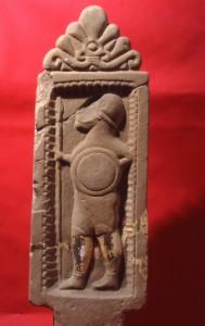 Stele del VI sec. a.C.rinvenuta a S.Agata